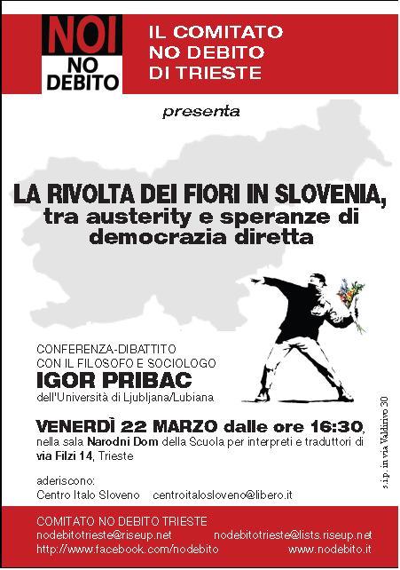 Trieste 22 marzo