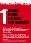 Roma, 1° maggio di lotta e di festa in IVmunicipio
