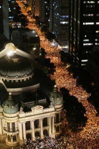 Rio-de-Janeiro-manifestazione